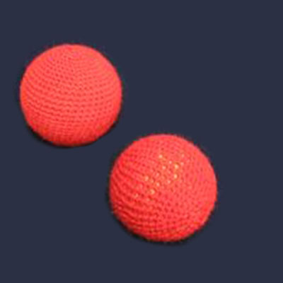 "Chop Cup Balls - 1"" Crocheted Balls (FT) - Set of 2"