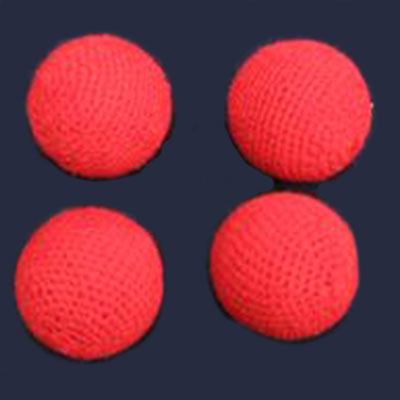 "Chop Cup Combo Balls - 1"" Crocheted Balls (FT) - Set of 4"