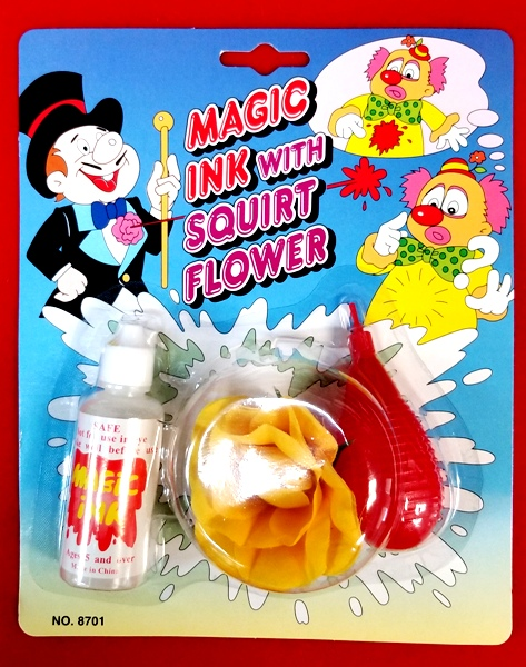 Magic Disappearing Ink with Squirt Flower #8701 - Pack of 12