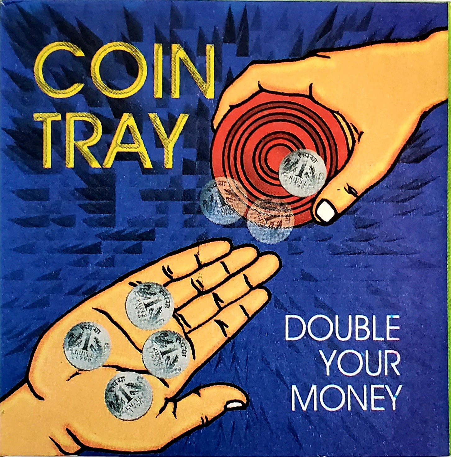 Multiplying Coin Tray Saucer - FT