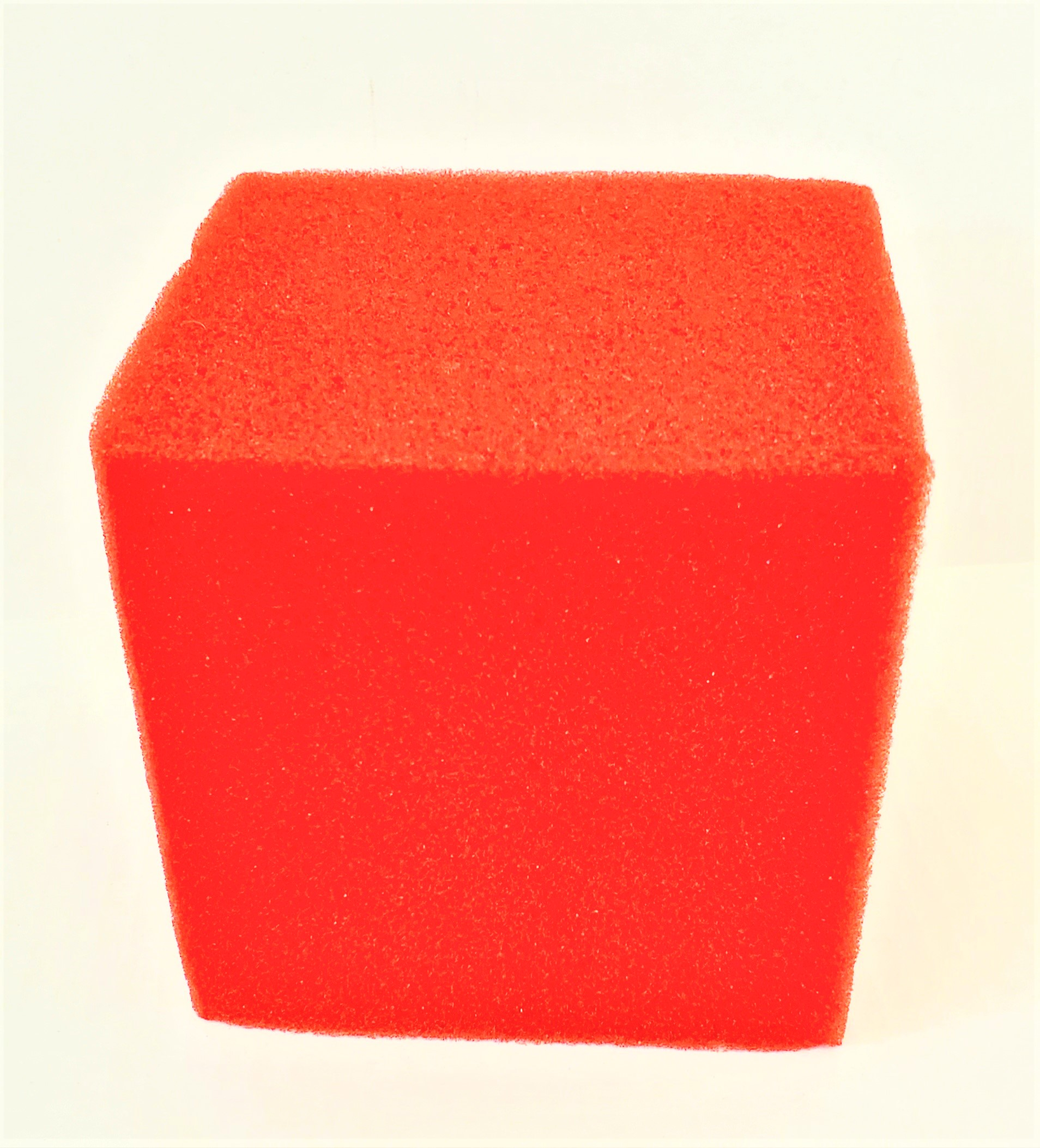 "Sponge Cube - 5"" - Supersoft - Red (Goshman)"