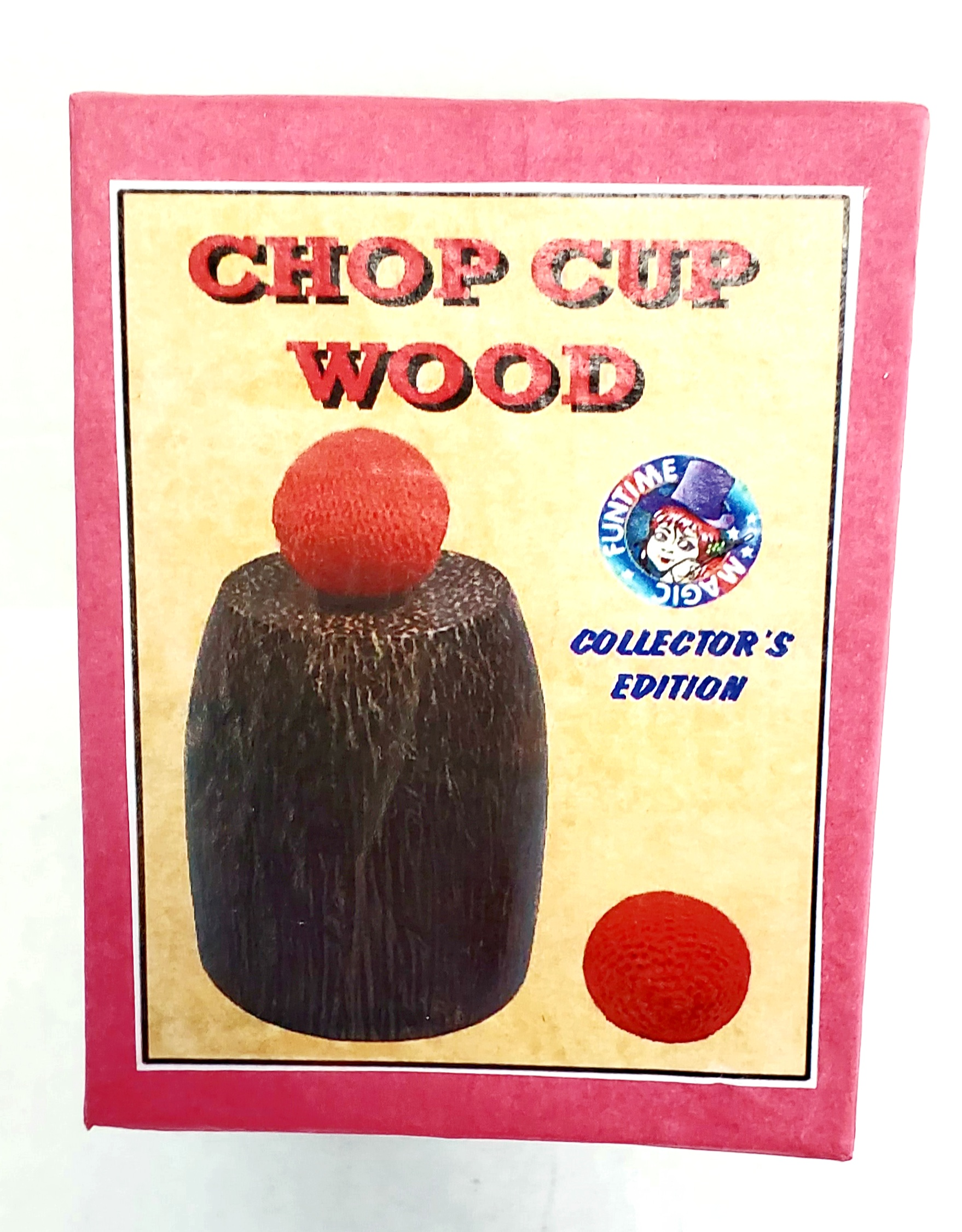 Chop Cup (Wood) - Collector's Edition (FT)
