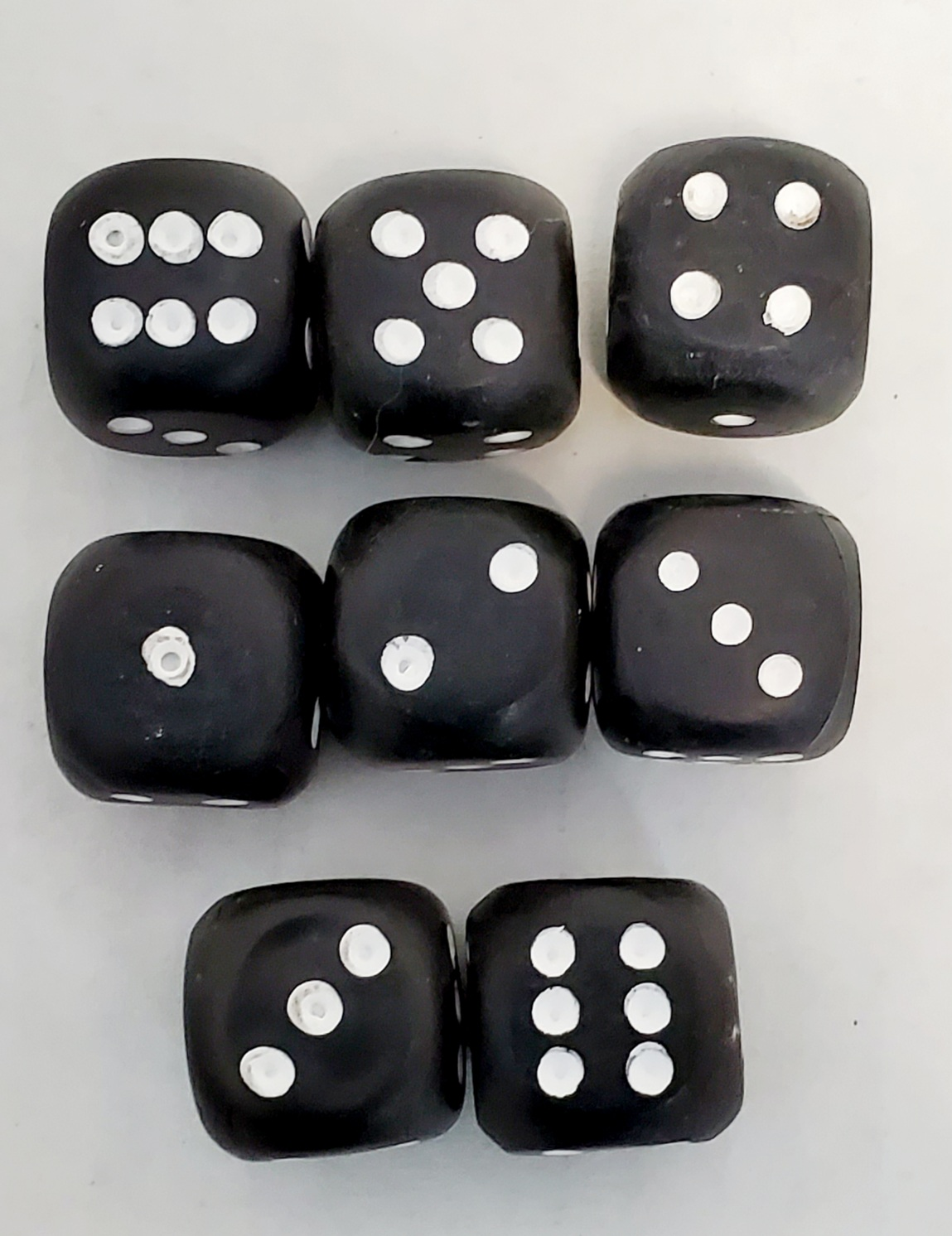 Loaded Dice Set of 8 (FT)