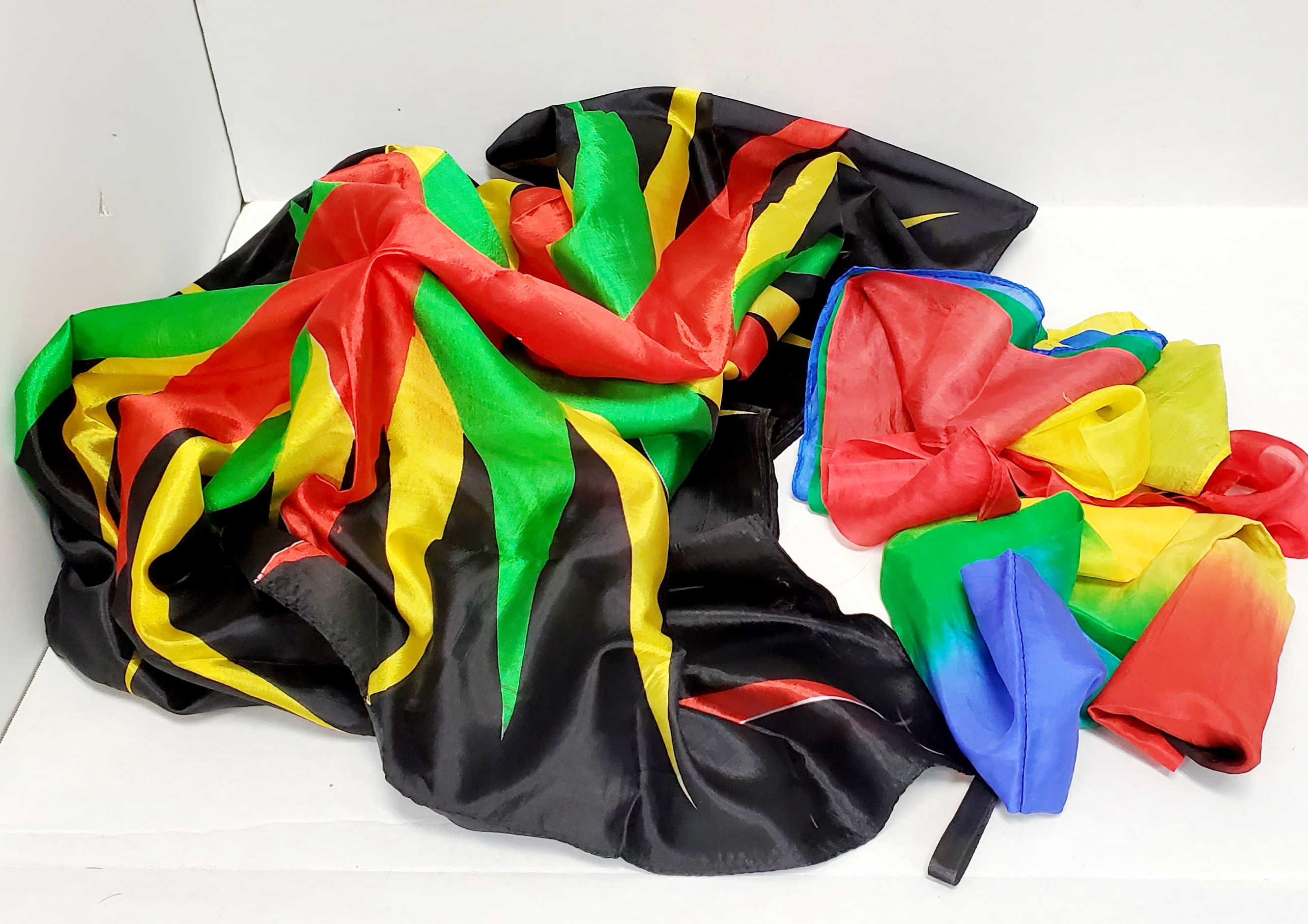 Split Multicolor Streamers to Foulard (FT)