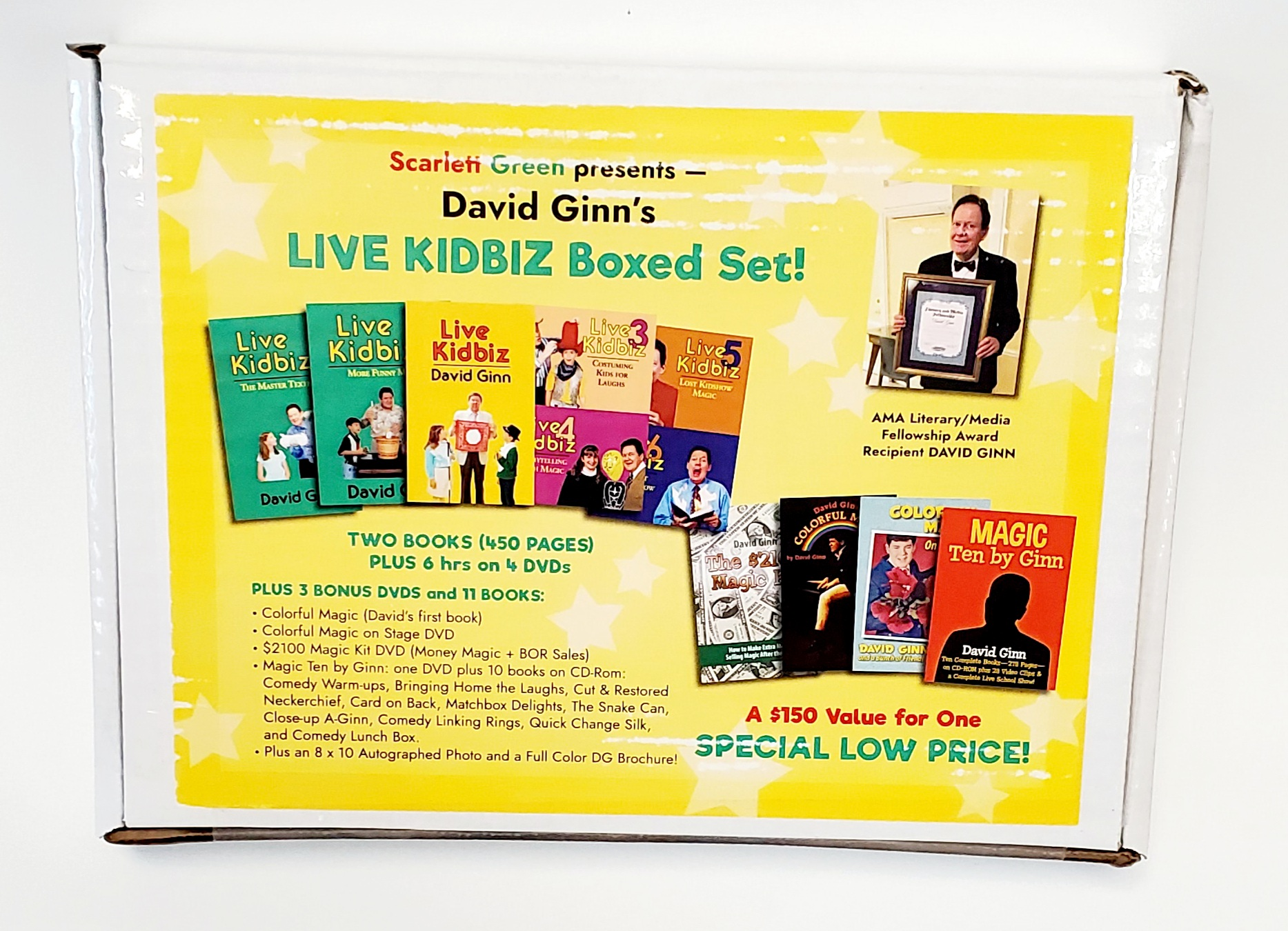 Live Kidbiz Boxed Set - David Ginn