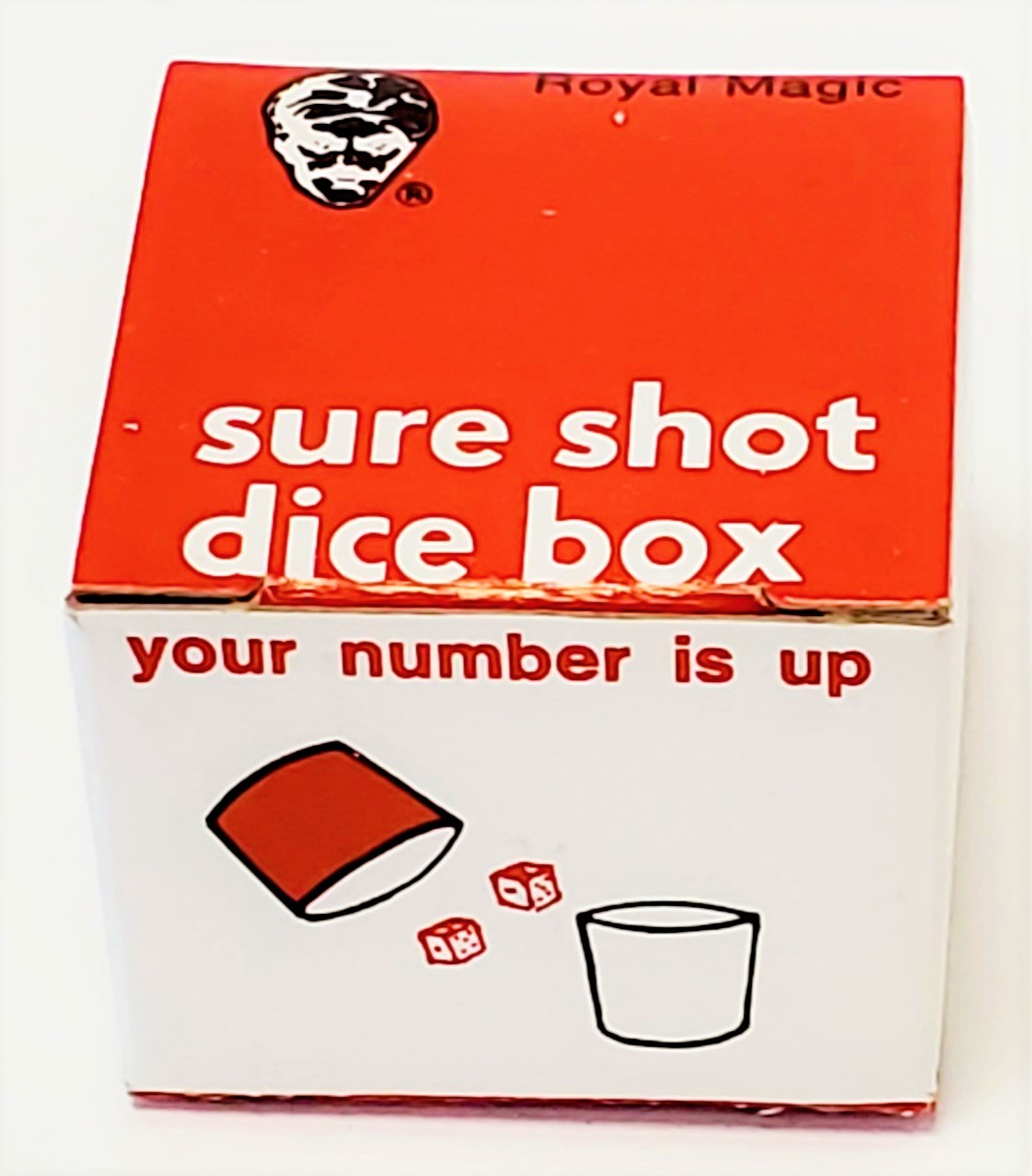 Sure Shot Dice Box - Royal