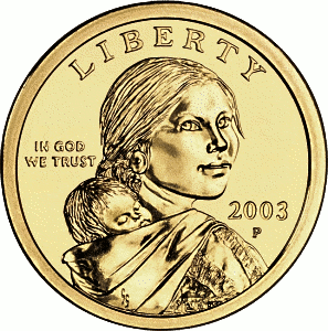 Hooked Coin - US $1 Gold