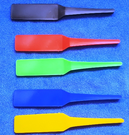 Tricky Paddles - Blank Colored (FT) - Pack of 100