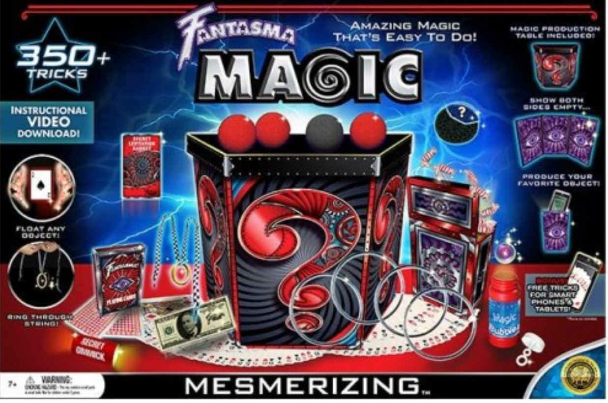 Fantasma Metamorphtrix Magic Show - 350 Tricks Magic Kit