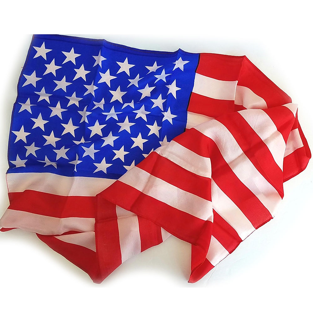 "American Flag Production Silk - 36"" x 22"" (E-Z)"