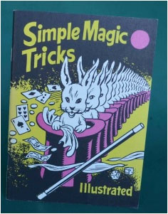 Simple Magic Tricks Book - SS Adams