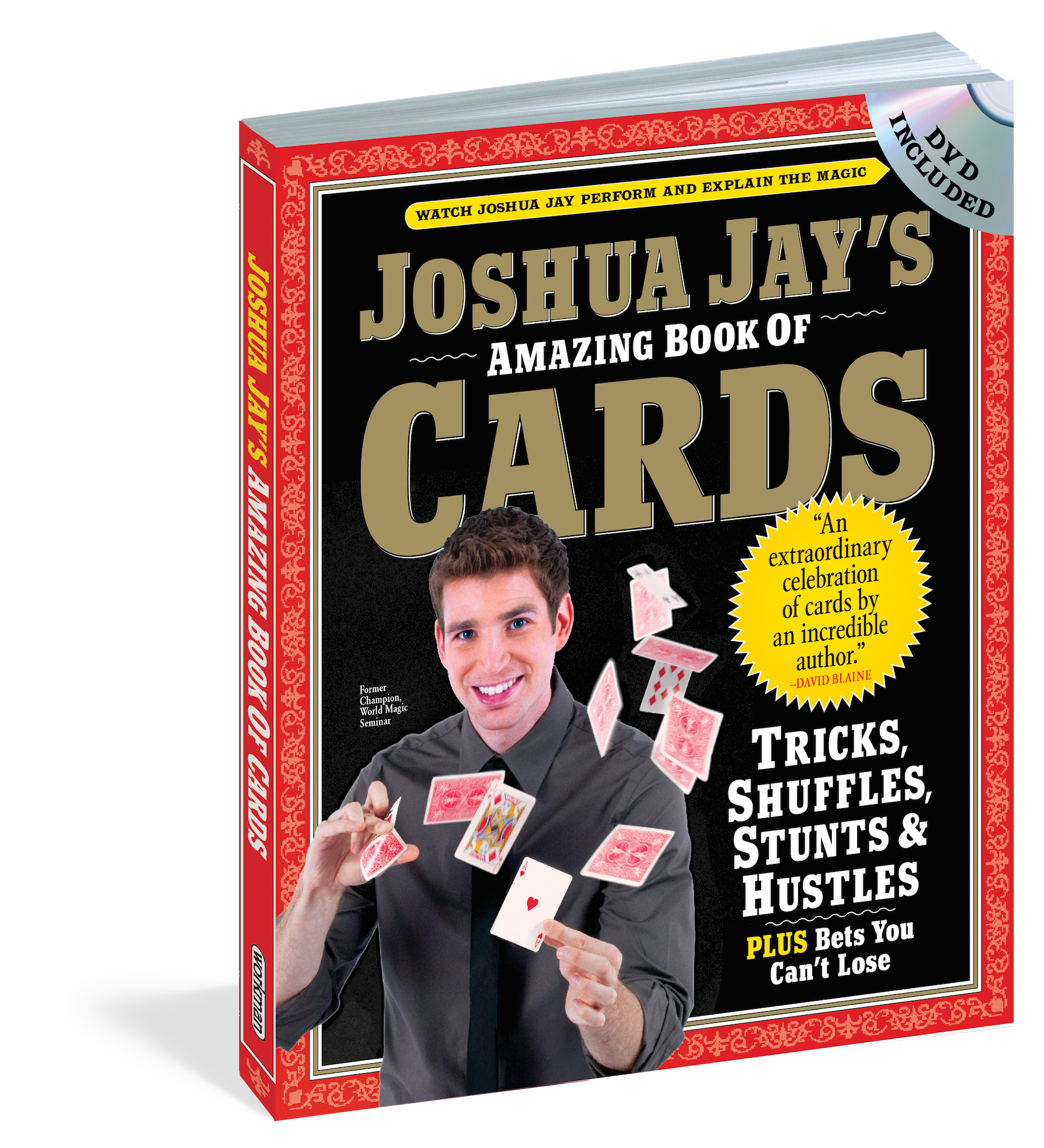 Amazing Book of Cards with DVD by Joshua Jay