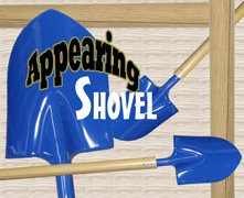 Appearing Shovel - 4.75 ft
