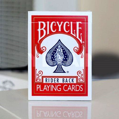Bicycle Poker Rider Back Deck #807 - Red