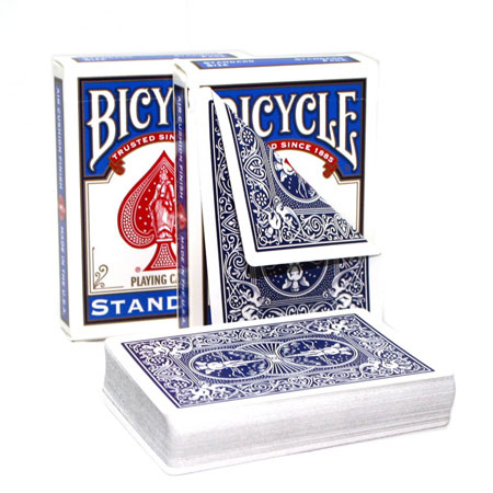 Bicycle Double Back Poker Utility Deck - Blue