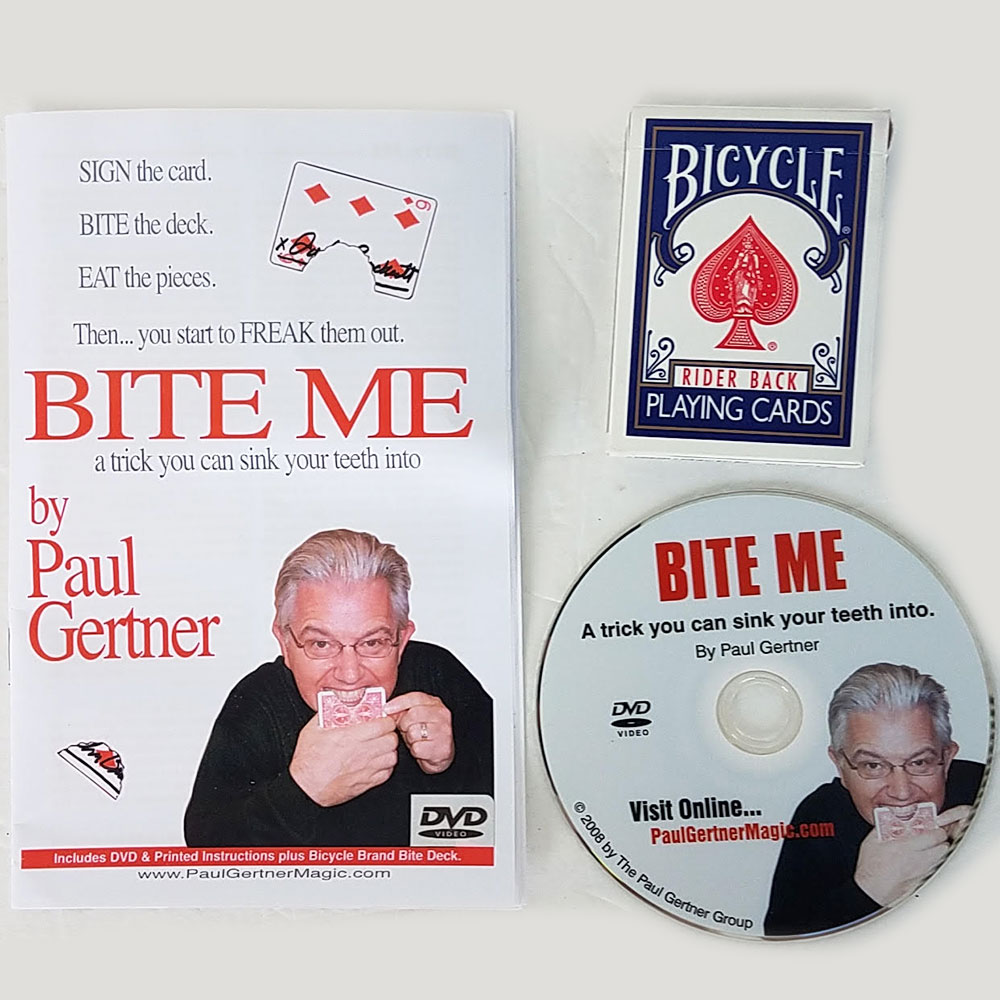 Bite Me Trick by Paul Gertner