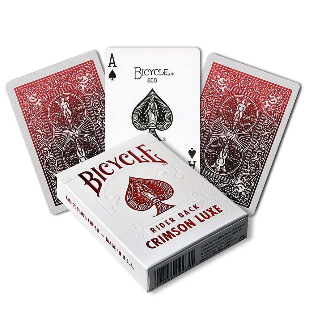 Bicycle MetalLuxe Deck - Red