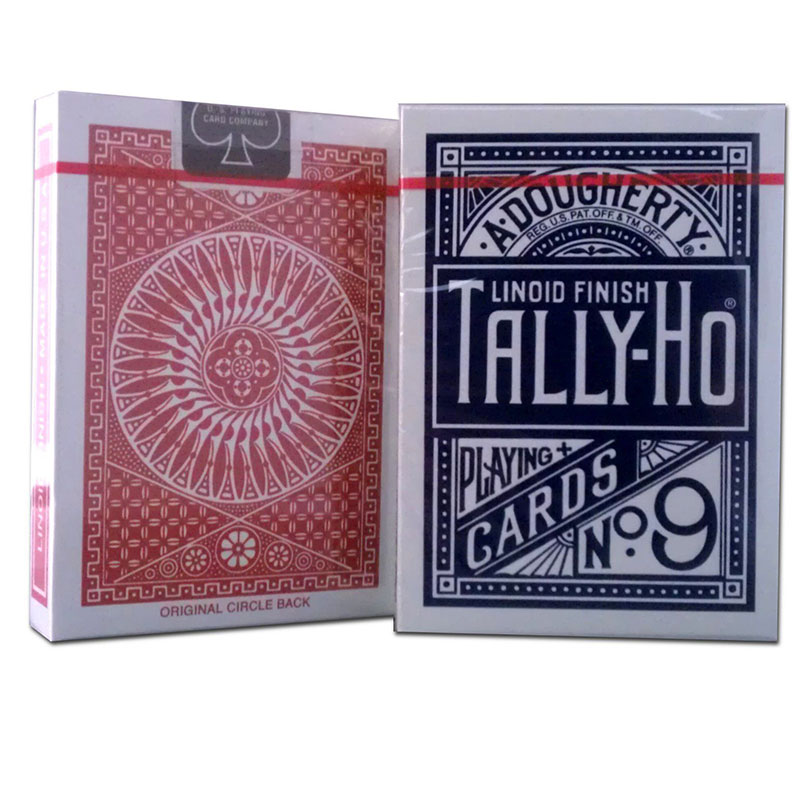 Poker Deck - Tally Ho Circle Back - Red/ Blue