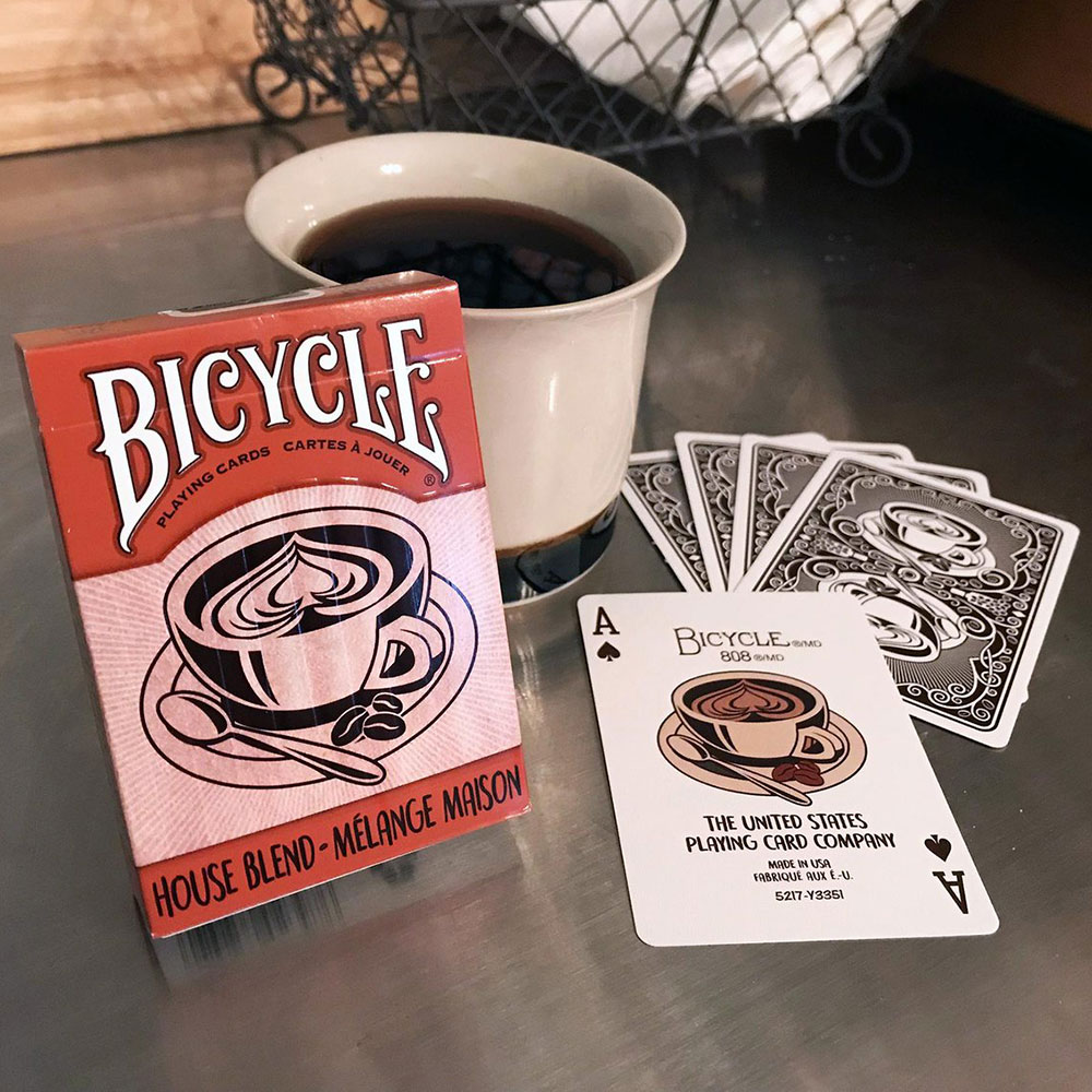 Bicycle House Blend Deck - Red