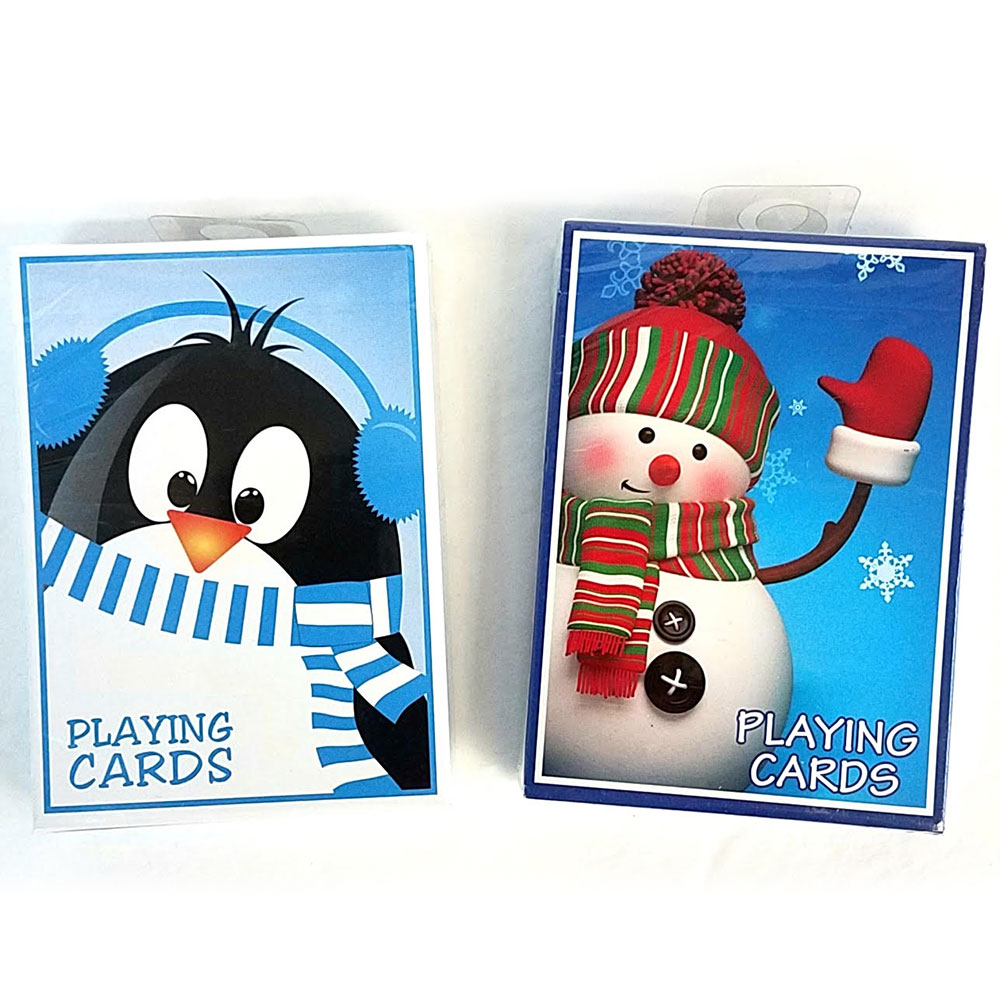 Bicycle Penguin or Snowman Deck