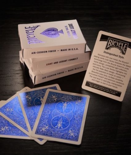 Bicycle MetalLuxe Deck - Cobalt Blue