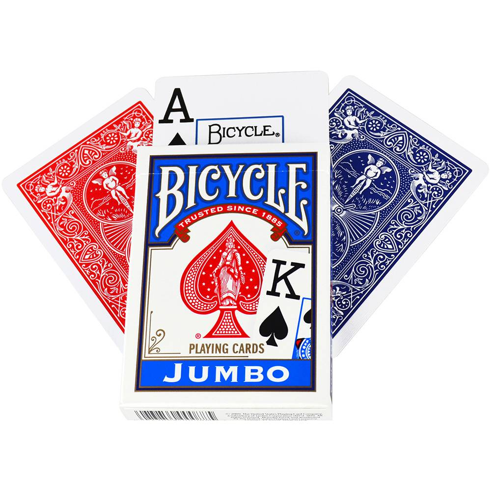 Bicycle Poker Jumbo Index Deck