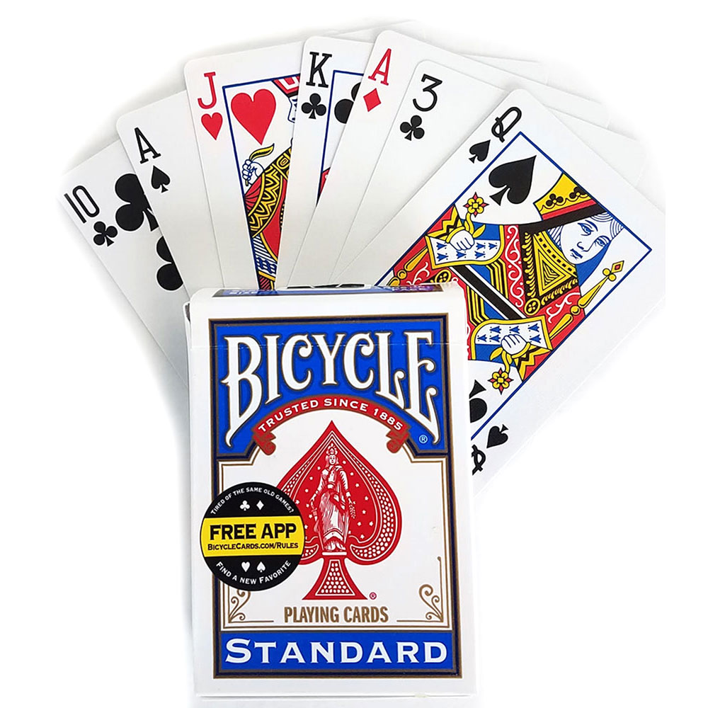 Svengali Deck - Bicycle Standard Poker (E-Z) - Blue