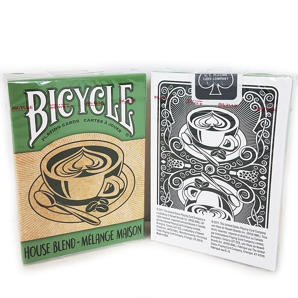 Bicycle House Blend Deck - Green