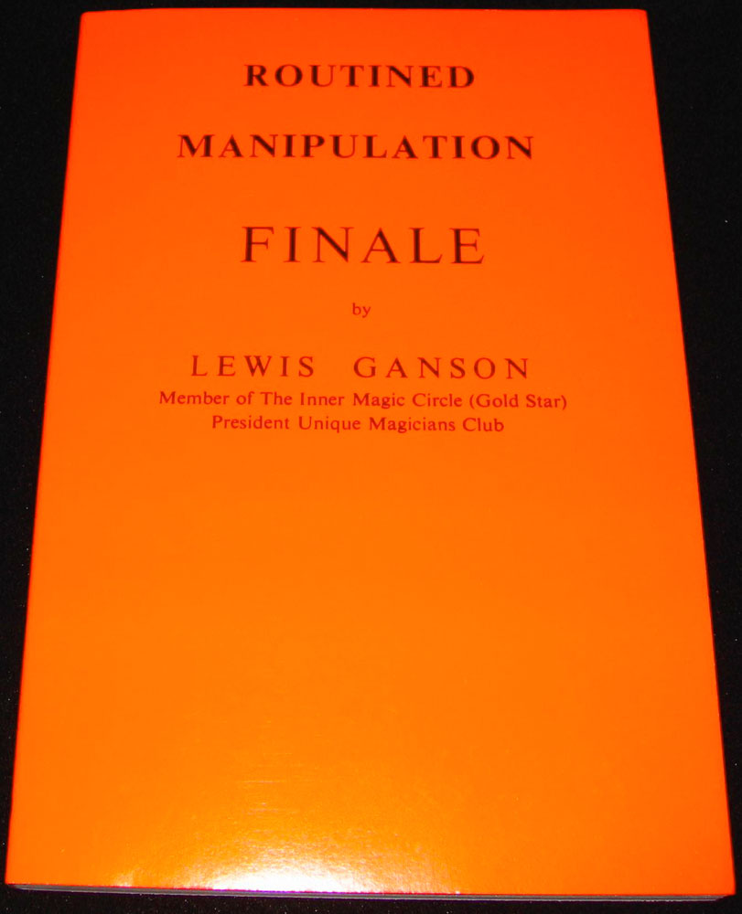 Routined Manipulation Finale by L. Ganson - Vol. 3 (FT)