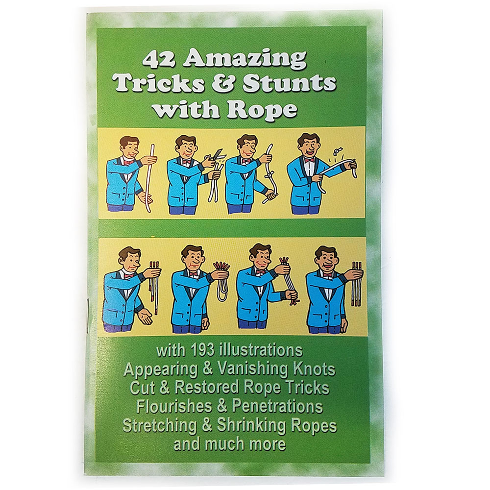 42 Amazing Tricks and Stunts with Rope Book (FT)
