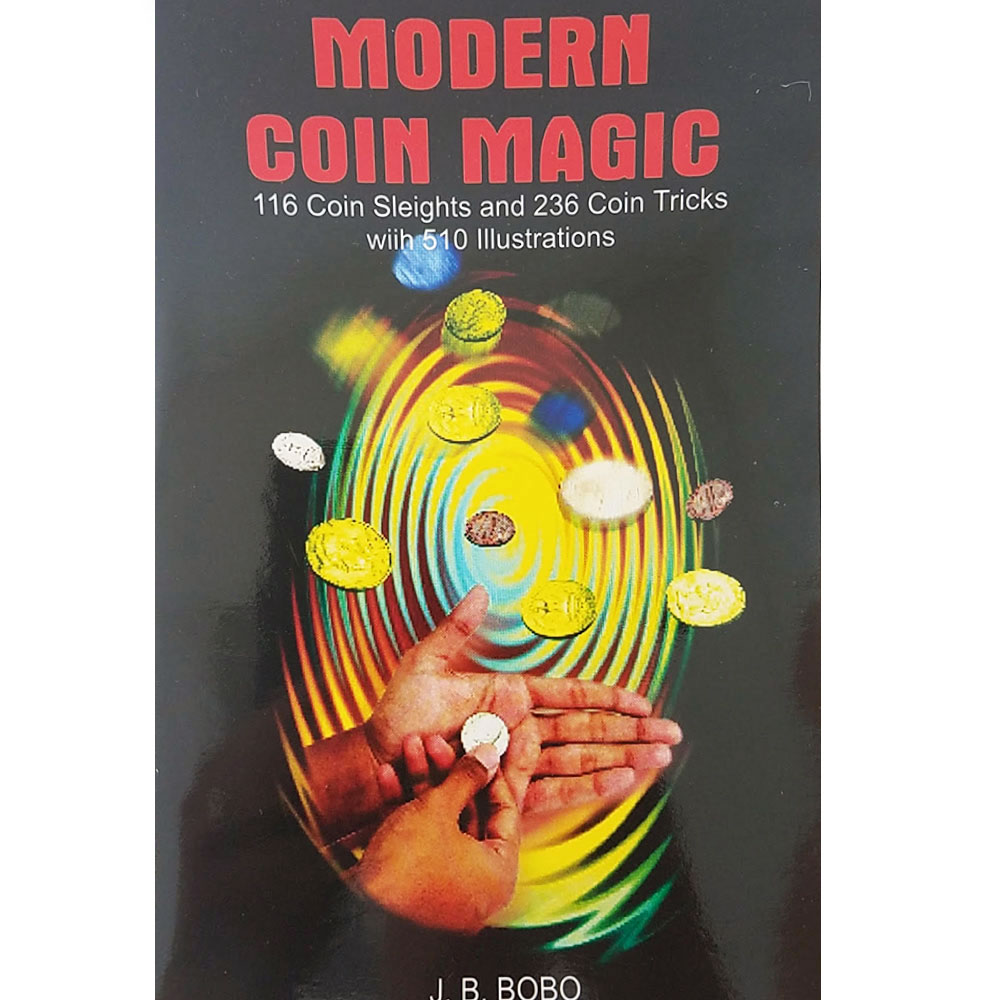 Modern Coin Magic by J.B. Bobo (Sterling)