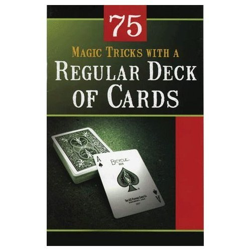 Regular Deck of Cards 75 Magic Tricks (TM)