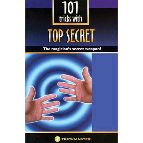 Top Secret 101 Magic Tricks with a Thumb Tip Book