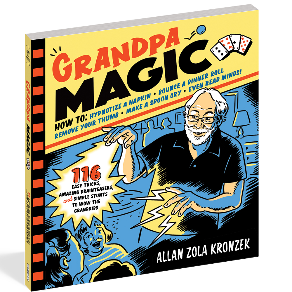 Grandpa Magic 116 Easy Tricks by A.Z. Kronzek