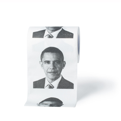 Funny Toilet Paper - Obama