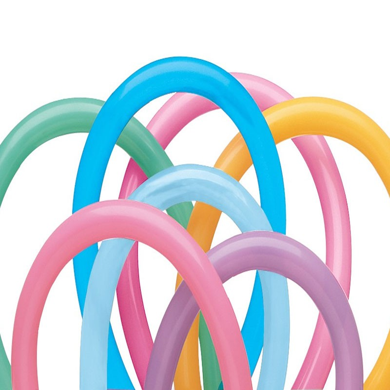 Qualatex Vibrant Twisting Balloons 260Q Bag of 100