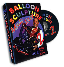 Balloon Sculpture Made Easy DVD - Vol. 2