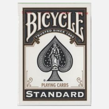 Bicycle Poker Standard Index Deck #808 - Black
