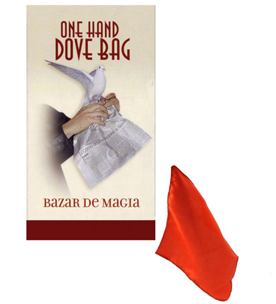 Classic One Hand Dove Bag - Colored Silk (Bazar de Magia)