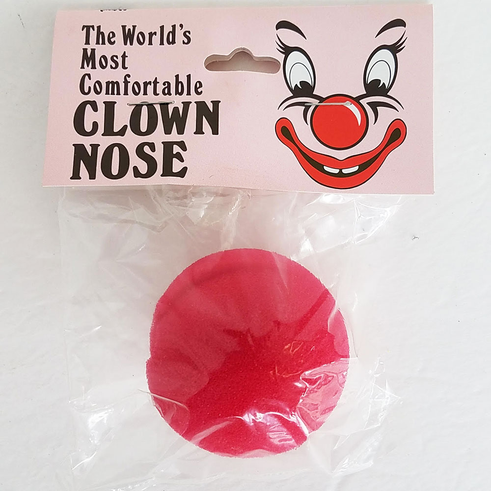 "Clown Nose - Sponge - 2"" PBH (Goshman)"