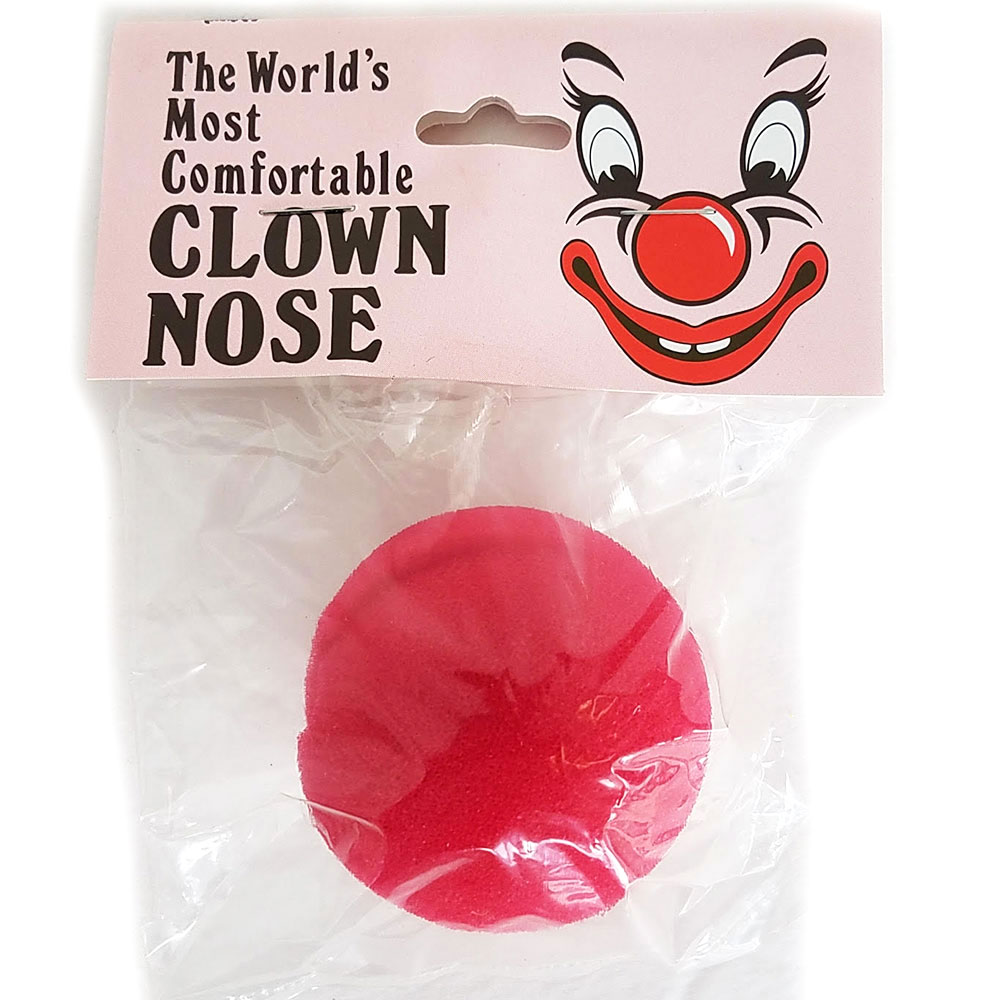 "Clown Nose - Sponge (Gosh) - 2"" PBH"