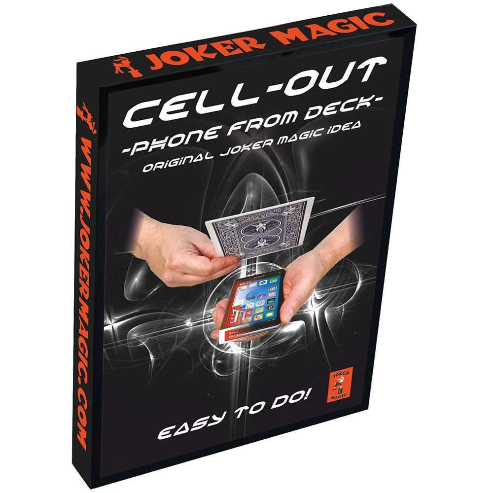 Cell Out - Phone from Deck (Joker Magic)
