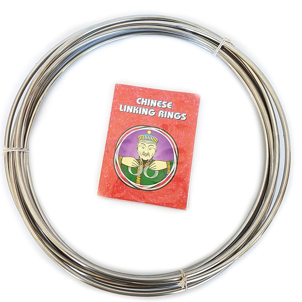 "Chinese Linking Rings - 12"" S.S. (FT)"