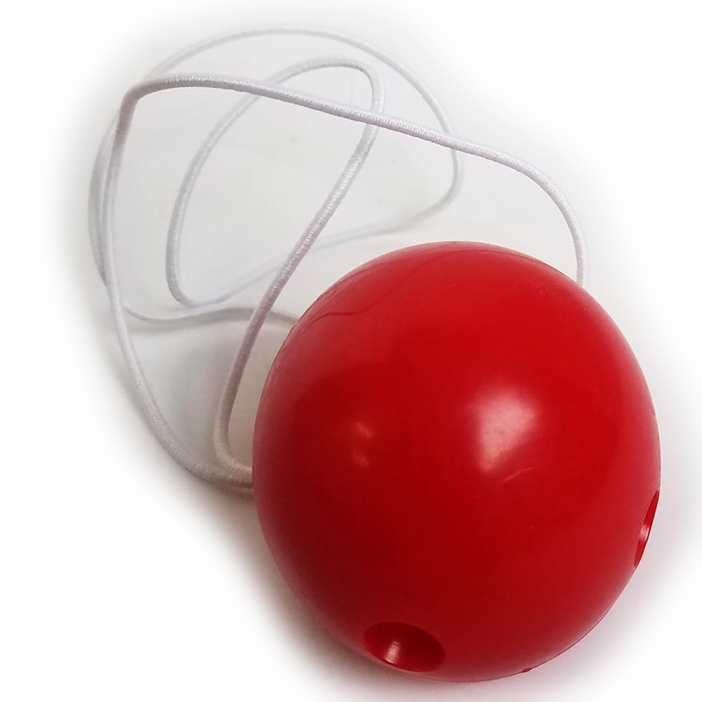 Clown Nose Deluxe with Elastic