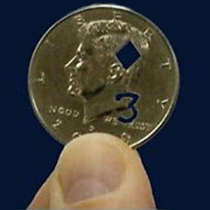 Cut out Coin Trick - Half Dollar US $0.50