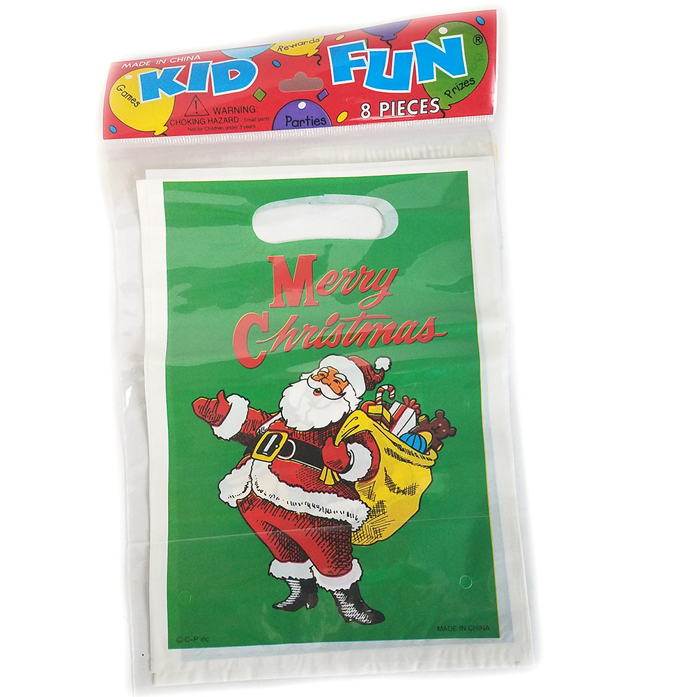 Christmas Loot Bags - Pack of 8