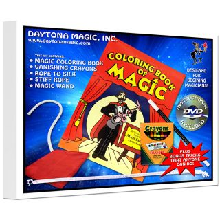 Magic Coloring Book Kit with DVD