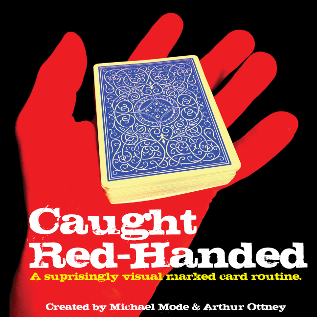 Caught Red Handed, with DVD