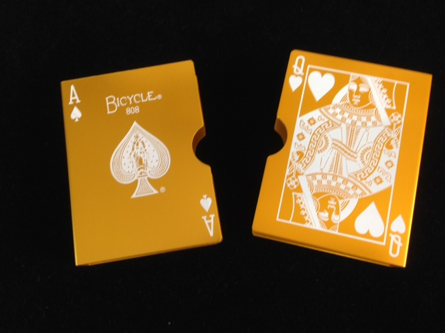 Card Guard - Anodized Gold