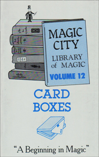 Card Boxes Book #12